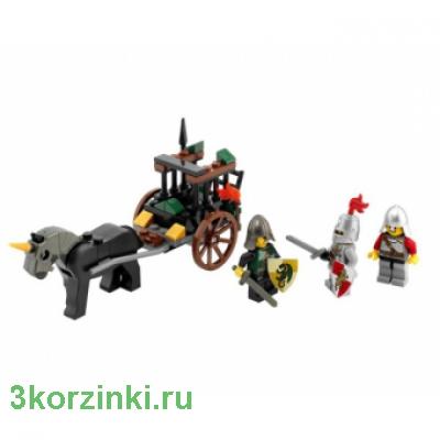 Констр-р LEGO Замок Погоня за повозкой с пленником