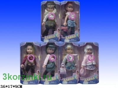 Кукла Алина, 36 см., коробка
