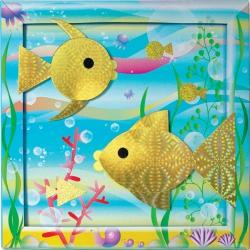 Набор для создания картины «Золотая рыбка»